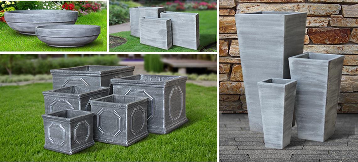 FiberStone Pots