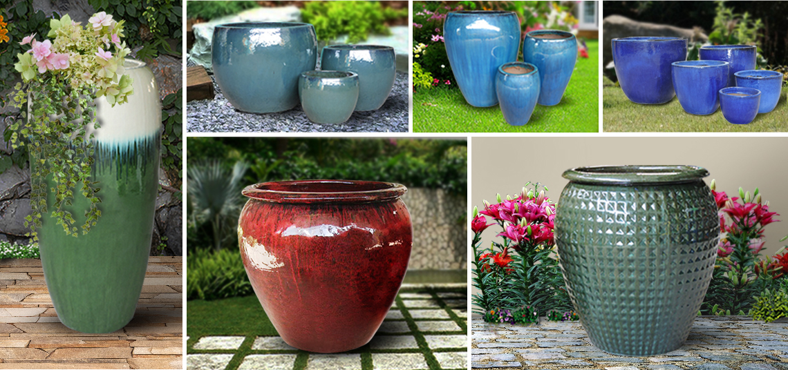 Outdoor Ceramic Pots